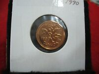 1990  CANADA  1  CENT COIN  PENNY  PROOF LIKE  HIGH  GRADE  SEALED  SEE PHOTOS