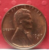 1947 D  LINCOLN WHEAT  1 PENNY KM A 132 A-213