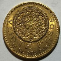 1918 MEXICO 20 PESO GOLD COIN  .4823 AGW   1C START