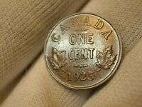 1925 KEYDATE CANADIAN SMALL CENT