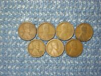 LINCOLN WHEAT CENTS: 1916S THRU 1923S : INCLUDES 1923S:   CONDITION
