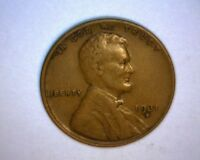 1931 D LINCOLN CENT,   >BETTER DATE COIN<  E/F FULL WHEAT LINES US  COIN