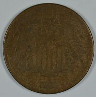 1865 SHIELD 2 CENT COIN  AG DETAILS  SEE STORE FOR DISCOUNTS GR04