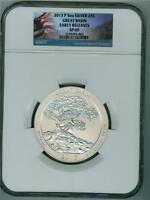 U.S.  2013-P 5 OZ. SILVER QUARTER DOLLAR GREAT BASIN NGC SATIN FINISH 69 EARLY RELEASES