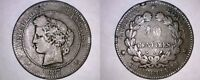 1897-A FRENCH 10 CENTIMES WORLD COIN - FRANCE