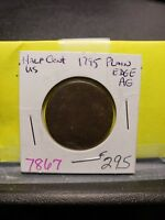 1795 LIBERTY CAP HALF CENT 7867