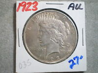 1923 PEACE SILVER DOLLAR/ TOP PICK/ TONING