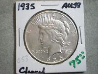 1935 PEACE SILVER DOLLAR/ TOP PICK/ CLEANED--BETTER DATE-SHIPS FREE