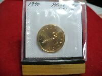 1990  CANADA  DOLLAR COIN  LOONIE TOP GRADE  SEE PHOTOS  90  PROOF LIKE  AUCTION