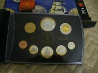 1999 CANADA PROOF SET   TOONIE  LOONIE FIFTY CENT QUARTER NICKEL DIME PENNY