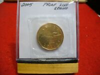 2005   CANADA   DOLLAR  COIN   TOP GRADE  SEE PHOTOS  05  PROOF LIKE  SEALED