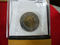 1998  CANADA 2$ TWO  DOLLAR  COIN  TOONIE  SEE PHOTOS  98  PROOF LIKE  SEALED