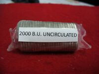 ROLL OF 25   2000   CANADA  HALF  DOLLAR  COINS     50 CENT PIECE   SEALED