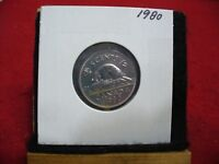 1980  CANADA  1  NICKEL 5 CENTS  COIN  PROOF LIKE SEALED  80    HIGH  GRADE