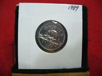1989  CANADA  1  NICKEL 5 CENTS  COIN  PROOF LIKE SEALED  89    HIGH  GRADE