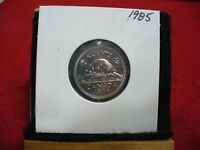 1985  CANADA  1  NICKEL 5 CENTS  COIN  PROOF LIKE SEALED  85    HIGH  GRADE