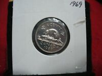 1969  CANADA  1  NICKEL 5 CENTS  COIN  PROOF LIKE SEALED  69   HIGH  GRADE