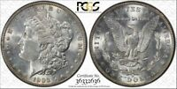 1903-O $1 MORGAN SILVER DOLLAR PCGS MINT STATE 62 GOLD SHIELD SECURE HOLDER