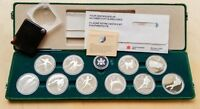 CANADA 1988 OLYMPIC 10 COIN SILVER PROOF SET 99C START BID [