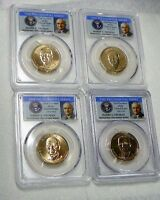 2015 P&D HARRY S. TRUMAN PRESIDENTIAL DOLLAR SET PCGS MINT STATE 67 POSITION A&B 4 COIN