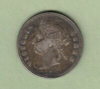 1891 HONG KONG 50 CENTS SILVER COIN   SCARCE