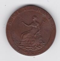 1797 2 PENCE GEORGE III 1800 PROCLAMATION COIN  BRITISH PENN
