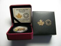 2014 PROOF $20 BABY ANIMALS 1 BEAVER KIT KITTEN CANADA .9999 SILVER TWENTY
