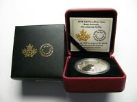 2014 PROOF $20 BABY ANIMALS 2 ATLANTIC PUFFIN CANADA .9999 SILVER TWENTY