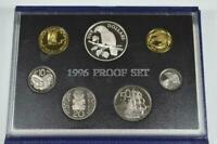 1996 NEW ZEALAND PROOF SET   KAKA  BUSH PARROT   SILVER $5 C