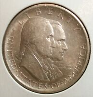 1926 SILVER AMERICAN SESQUICENTENNIAL HALF DOLLAR US COMMEMO