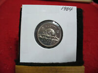 1984  CANADA  1  NICKEL 5 CENTS  COIN  PROOF LIKE SEALED  84   HIGH  GRADE