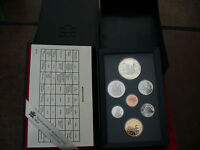 1989 CANADA PROOF SET DOUBLE DOLLAR SILVER AND LOON DOLLAR MACKENZIE'S VOYAGE