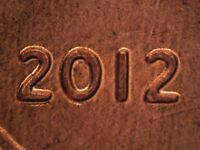2012 P 1DO 002 WDDO 002 LINCOLN CENT DOUBLED DIE