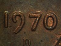 1970 D 1DO 002 WDDO 012 LINCOLN CENT DOUBLED DIE
