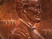 1988 P DIE CLASH LINCOLN CENT