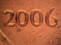 2006 P WDDO 008 CDDO 018 LINCOLN CENT DOUBLED DIE