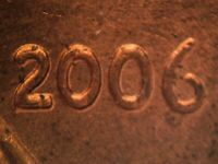 2006 P 1DO 015 WDDO 031 CDDO 022 2 O VIII LINCOLN CENT DOUBLED DIE