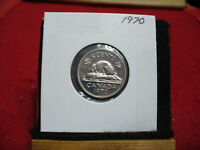 1970  CANADA  1  NICKEL 5 CENTS  COIN  PROOF LIKE SEALED  70    HIGH  GRADE