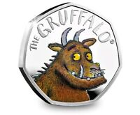 2019 GRUFFALO 50P SILVER PROOF COIN ROYAL MINT. PRE ORDER. S
