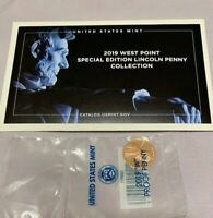 2019 W LINCOLN PROOF NEW PREMIUM WITH COA SEALED MINTED CENT  FIRST W