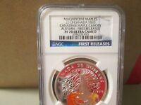 CANADA 2013 $20 PROOF MAGNIFICENT MAPLE CANOPY AUTUMN NGC PF70UCAMEO  015