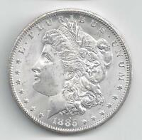 1885 CC MORGAN SILVER DOLLAR   BRILLIANT UNCIRCULATED RARE K