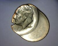 1965 ROOSEVELT DIME HUGE OFF CENTER BROAD STRIKE DIE CLASH