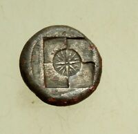 SICILY SYRACUSE SECOND DEMOCRACY 466 405 BC. 17MM ARETHUSA /