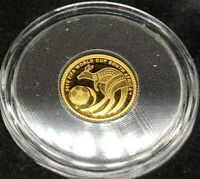 2010 FIFA WORLD CUP   SOUTH AFRICA   0.5G FINE .9999 GOLD PR