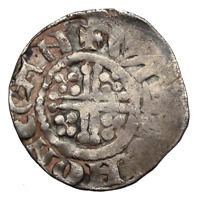 ENGLAND. HENRY III SILVER PENNY WILLEM ON CANTERBURY CLASS 7