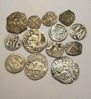 MEDIEVAL GREAT SILVER EUROPEAN COINS 12 16 CENTURY  HUNGARY
