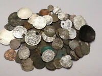 LOT 120 MEDIEVAL COINS SILVER AND BRONZE HUNGARY POLAND GERM