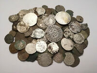 LOT 145 MEDIEVAL COINS SILVER AND BRONZE HUNGARY POLAND GERM