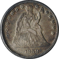 1859 LIBERTY SEATED HALF DIME LOW MINTAGE HIGH GRADE